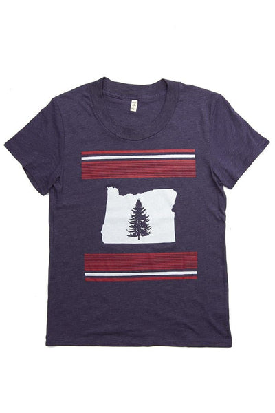 Oregon Pine Navy Tee