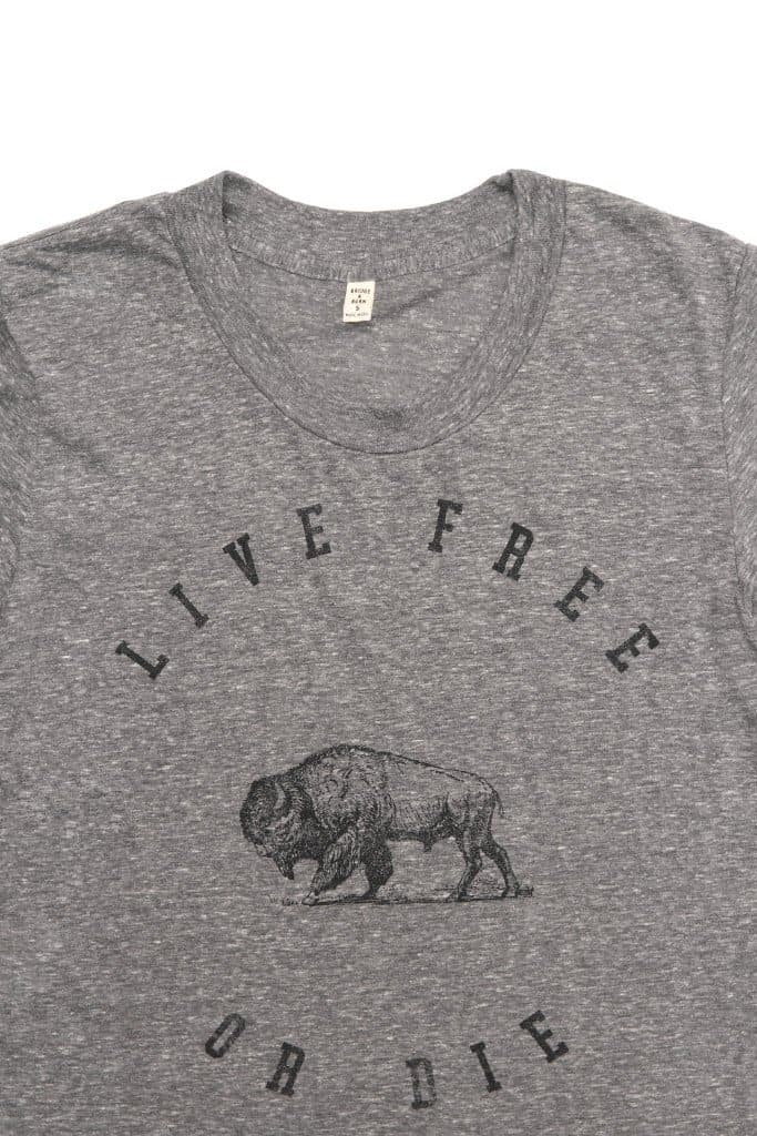 Women's Live Free or Die Grey