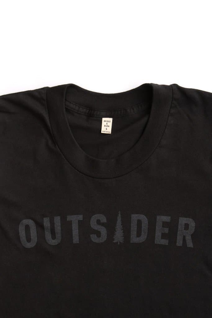 Women's Outsider Tonal Black