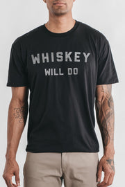 Men's Whiskey Will Do Black