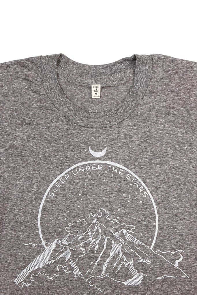Women's Sleep Under The Stars Grey White