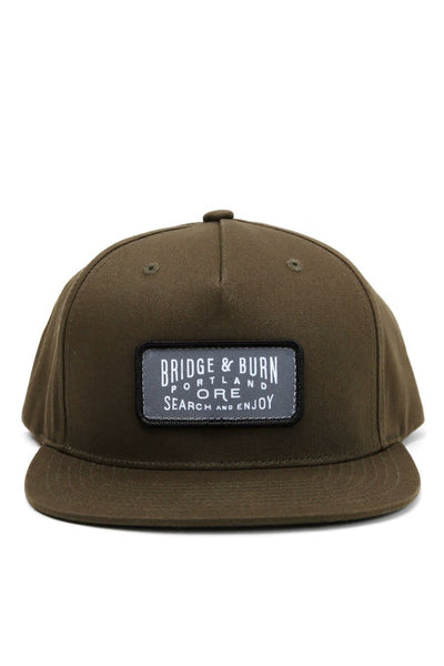 Search & Enjoy Cap Olive