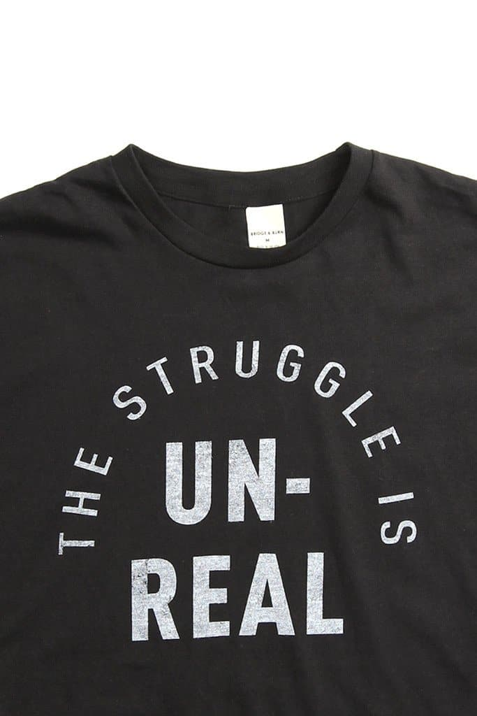 Men's The Struggle Black