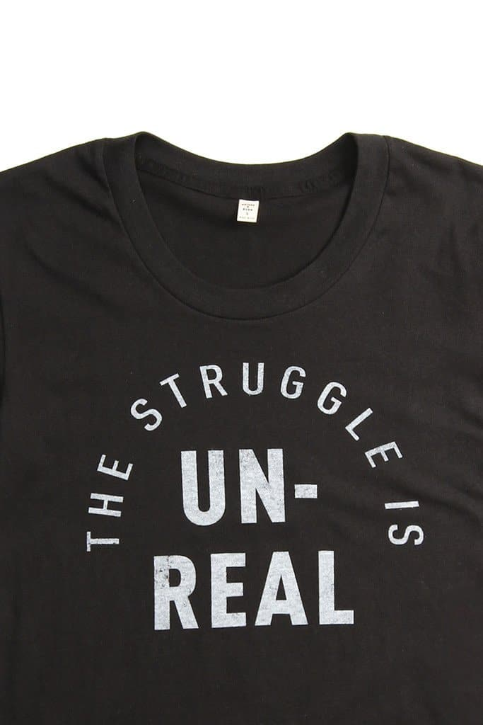 Women's The Struggle Black