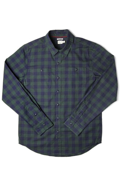 Winslow Navy-Forest Gingham