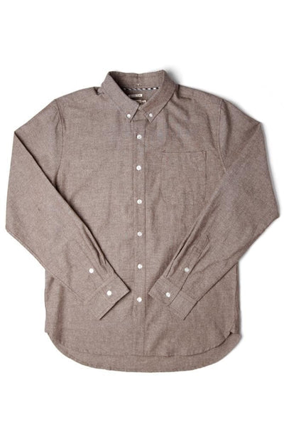 Sutton Brown Chambray
