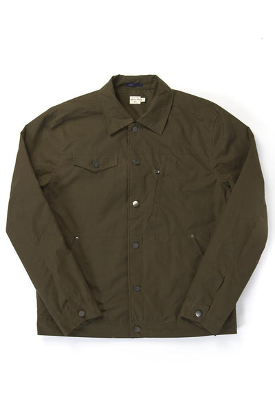 waxed canvas field jacket