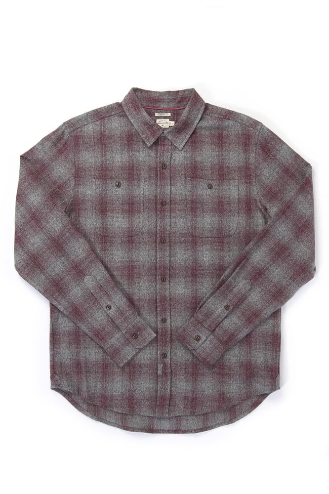 Winslow Burgundy Ombre Plaid