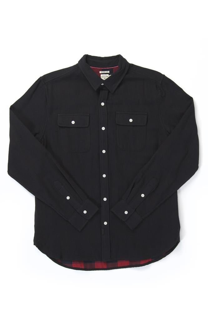 Cole Black Double Cloth