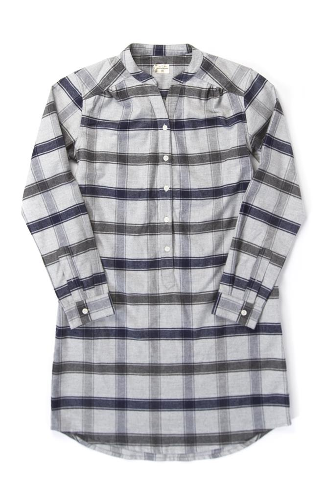 Ivy Light Grey Plaid