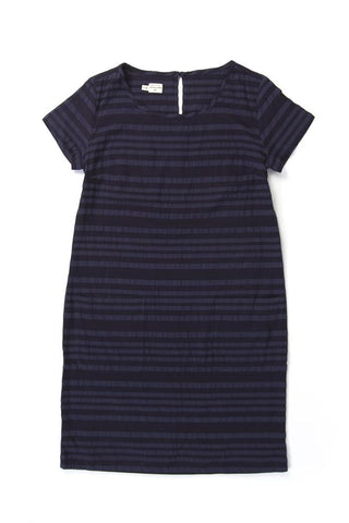 Elodie Navy Stripe