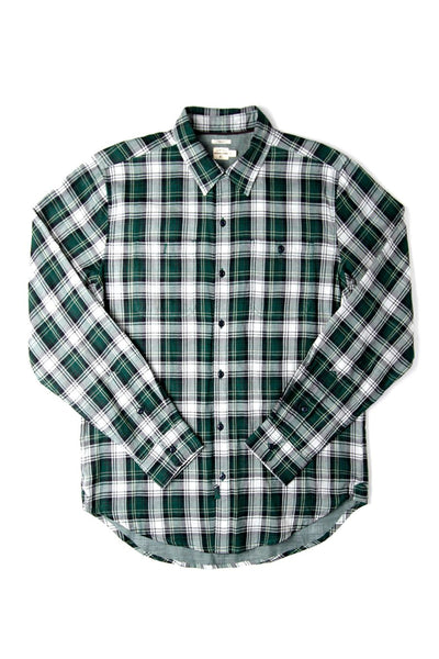 Winslow Leaf Green Plaid