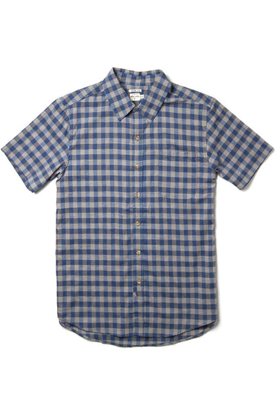 Harbor Blue-Grey Gingham