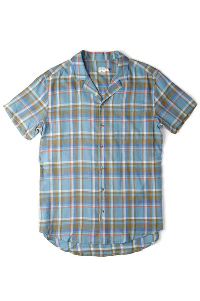 Hank Sky Blue Plaid