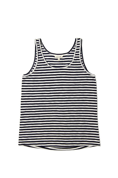 Lyle Navy Stripe