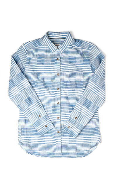 Woodrow Blue Multistripe