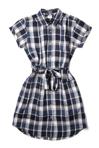 Merit Ink Blue Plaid