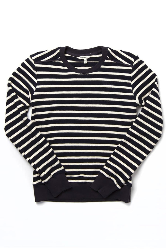 Linnton Navy-White Stripe