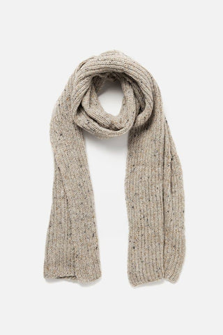 Bridge & Burn Cable Scarf Oatmeal