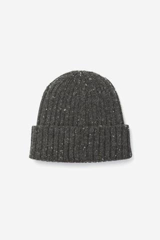 Bridge & Burn Chunky Ribbed Beanie Graphite