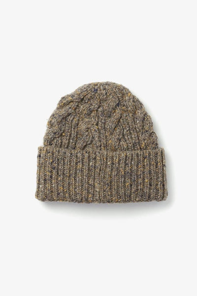 Bridge & Burn Cable Beanie Stone
