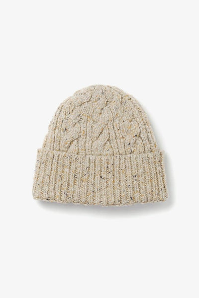 Bridge & Burn Cable Beanie Oatmeal