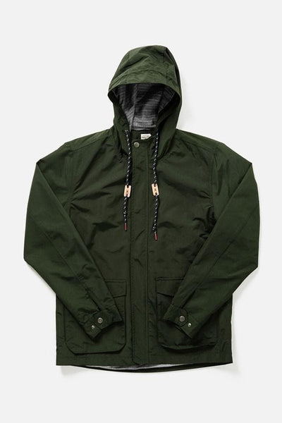 Marshall Forest Bridge & Burn men's water resistant jacket