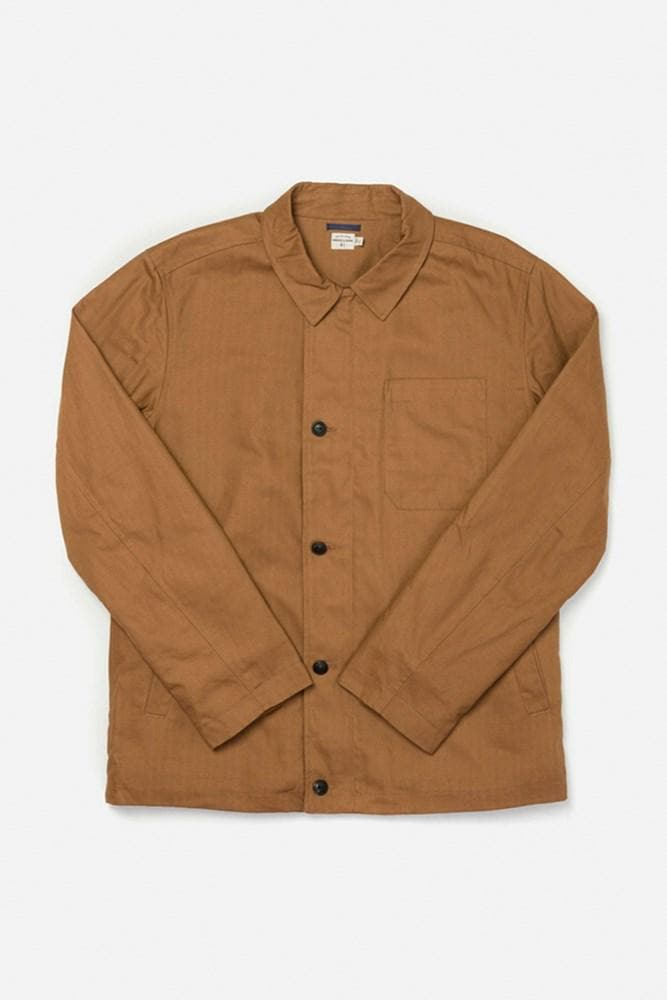 Ollie Tobacco Bridge & Burn men's deck jacket