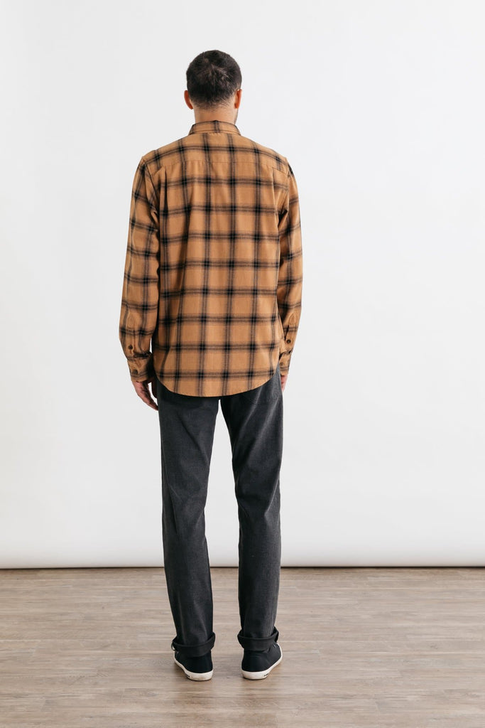 Winslow Ochre Plaid