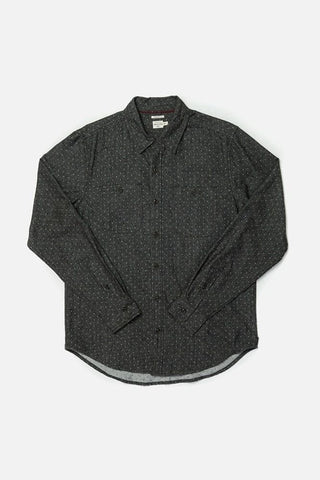 Winslow Charcoal Polkadot