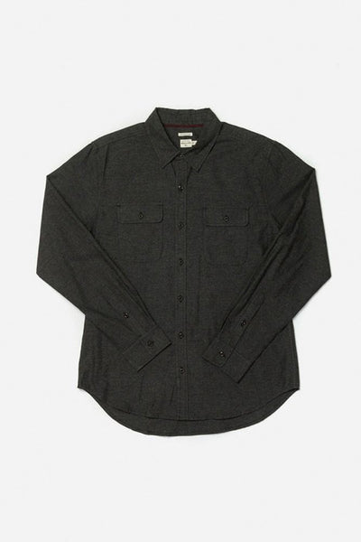 Cole Charcoal Bridge & Burn men's slim fit button up