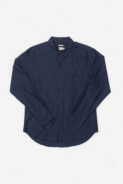 Cole Denim Blue Bridge & Burn men's slim fit button up