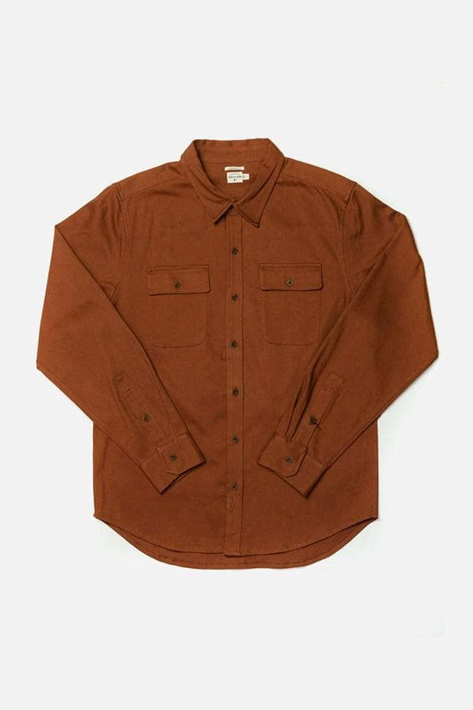 Bedford Russet Bridge & Burn men's long sleeve button up