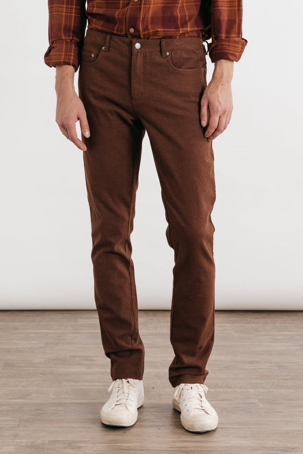 Bradley Bark Bridge & Burn men's slim-fit trouser