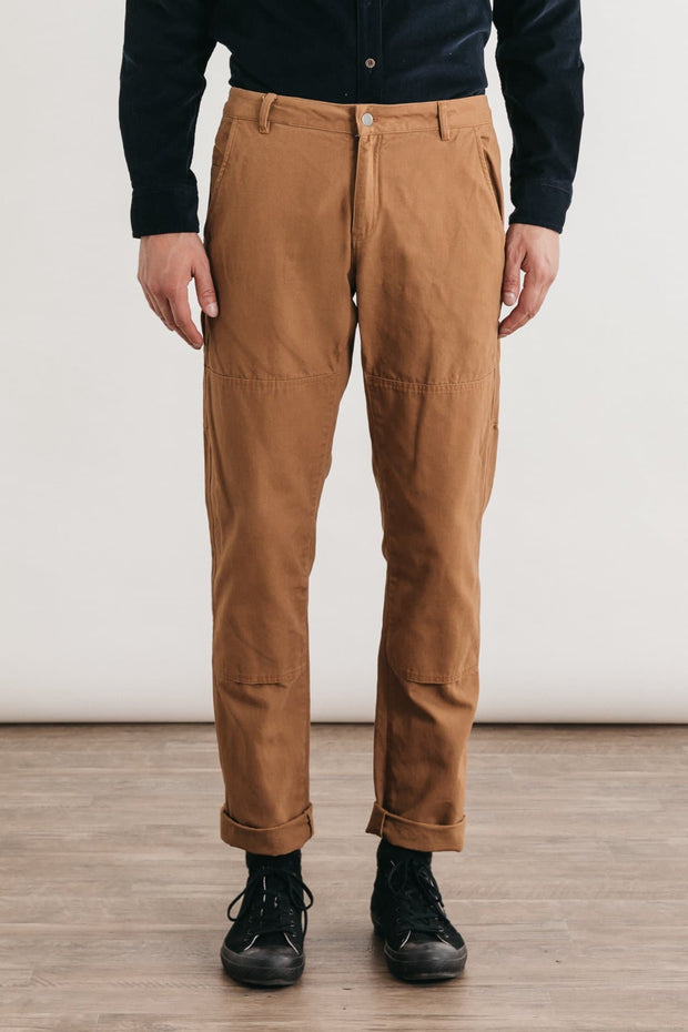 Wallace Ochre Bridge & Burn men's canvas workwear pant