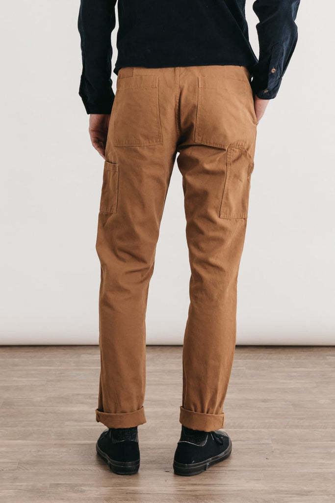 Wallace Utility Pant Ochre