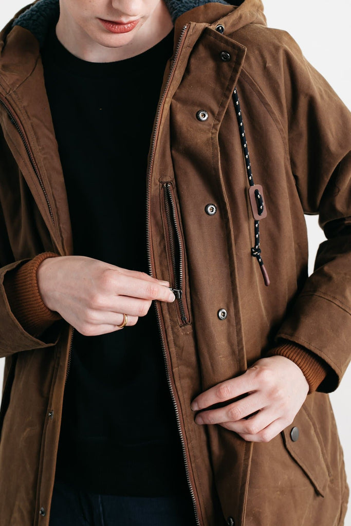 Sequoia Parka Whiskey Brown