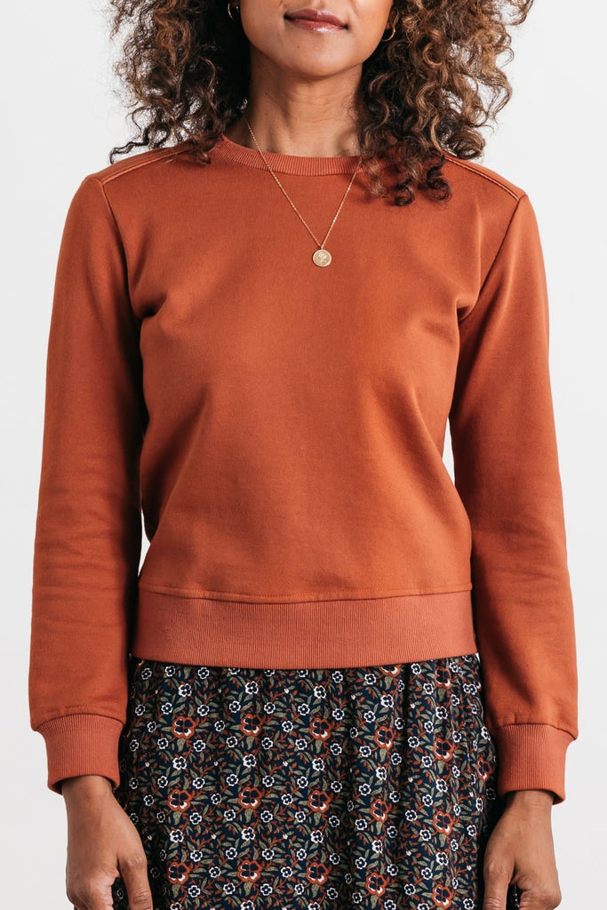 Linnton Curry Bridge & Burn women's crewneck sweatshirt
