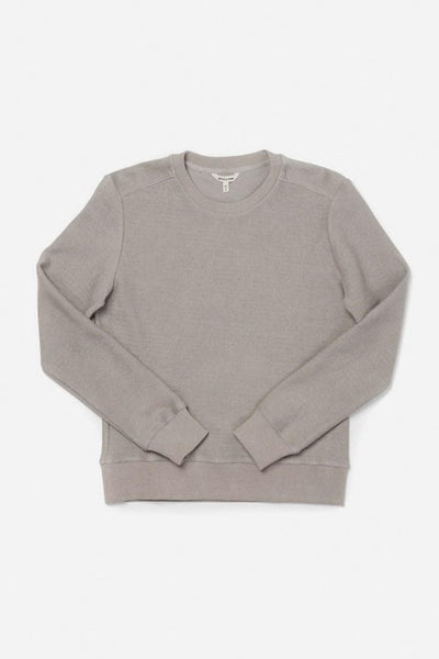 Linnton Oatmeal Bridge & Burn women's crewneck sweatshirt