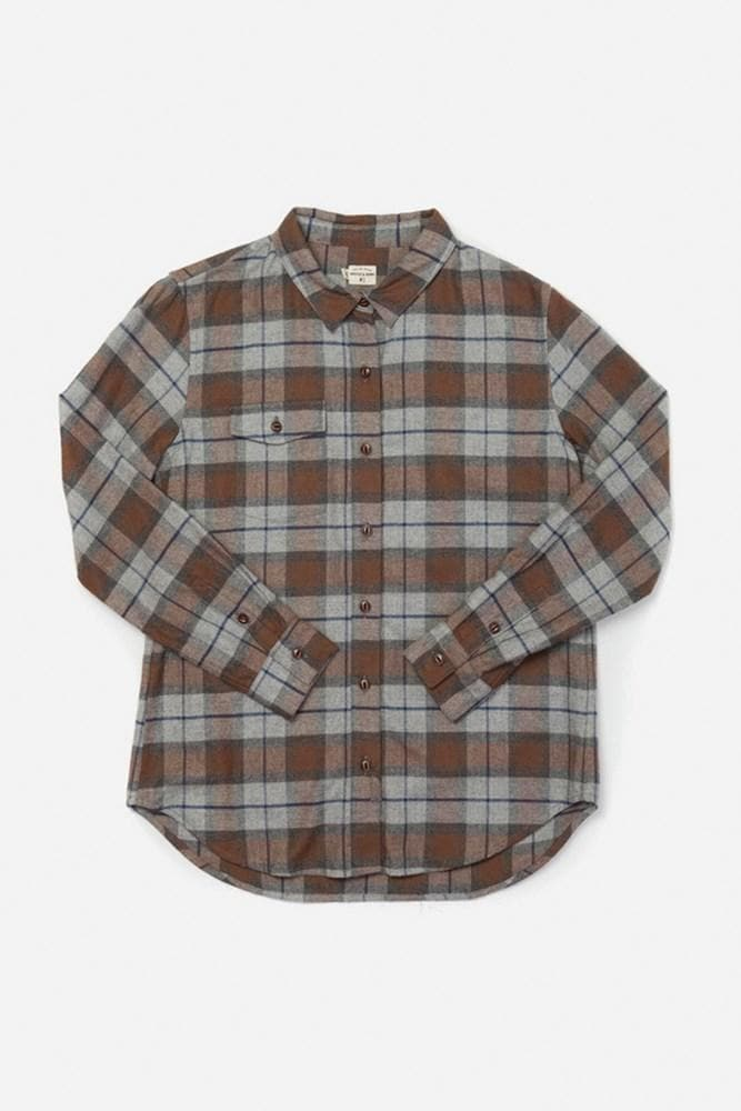 Bird Sienna Plaid Bridge & Burn women's flannel button up shirt