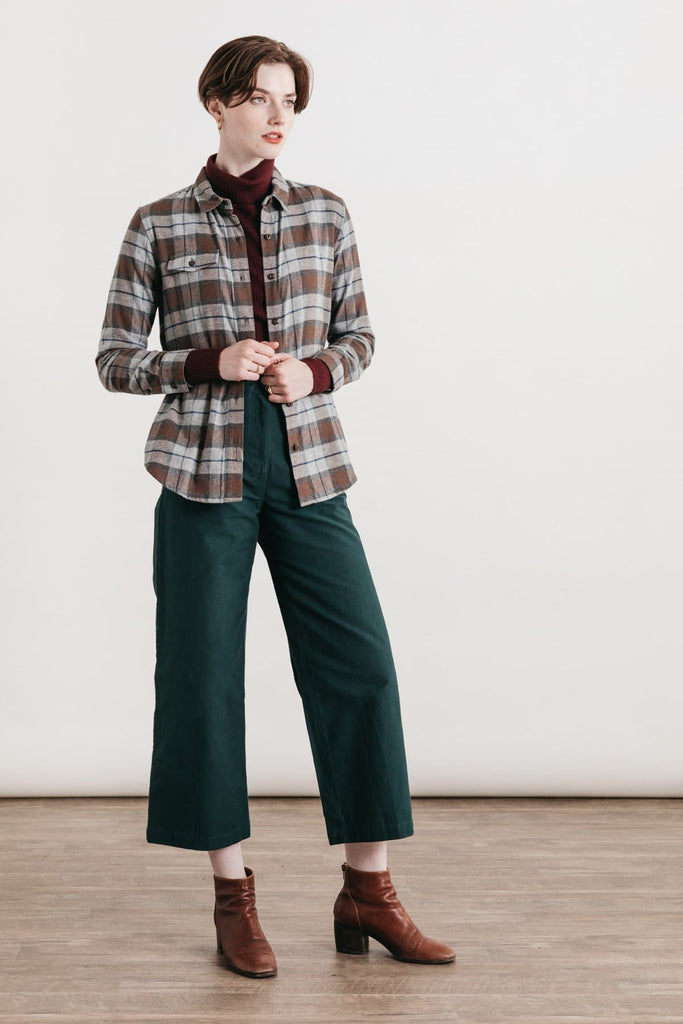 Bird Sienna Plaid