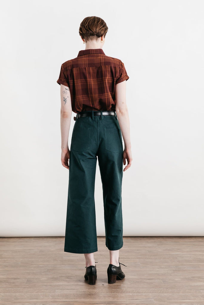 Bea Burgundy Plaid