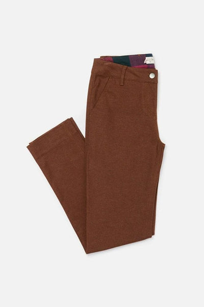 Market Bark Bridge & Burn women's mid rise cotton trousers