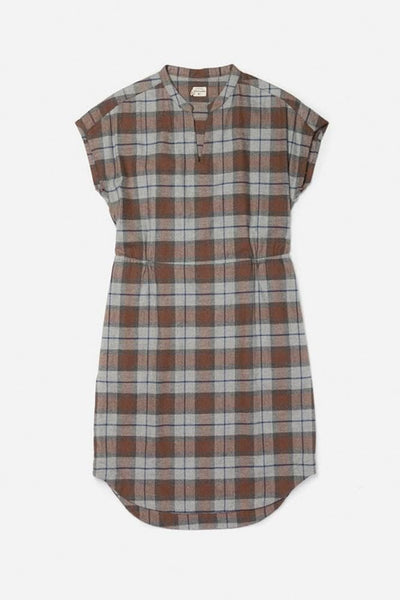 Clement Sienna Plaid Bridge & Burn women's pullover sheath dress