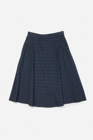 Cara Navy Gingham