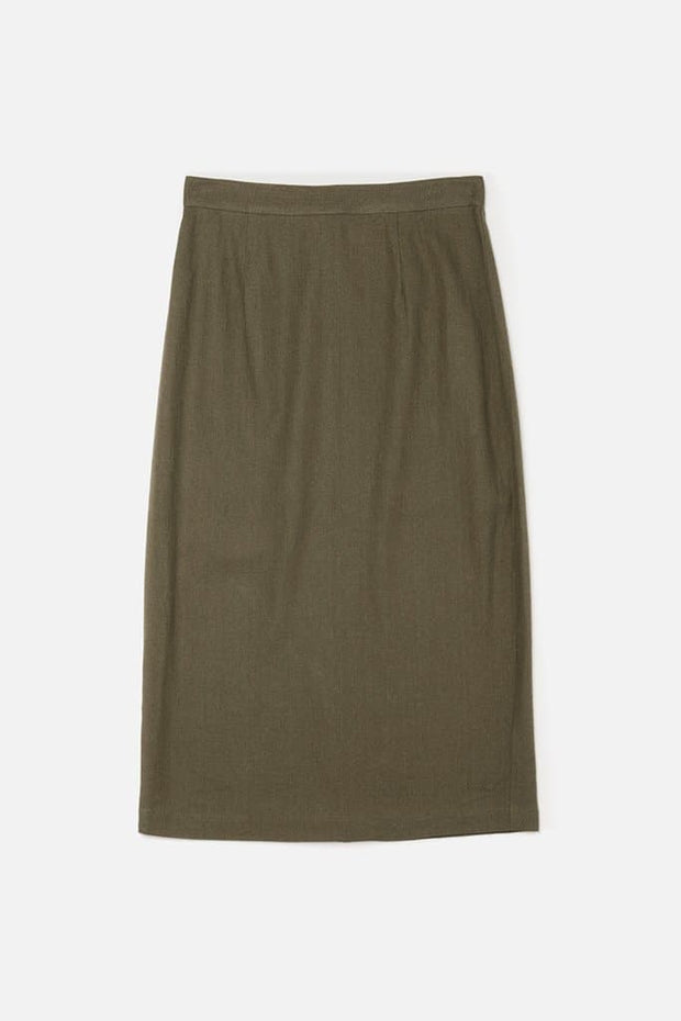 Willa Olive Bridge & Burn women's long pencil skirt