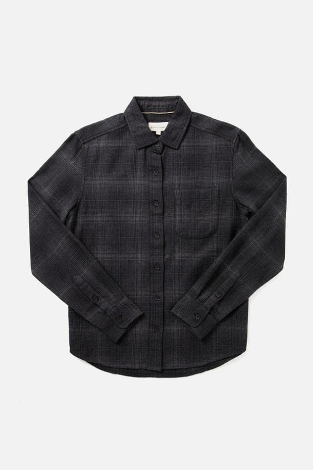 Ash Black Grey Twill Plaid