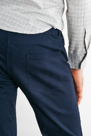 Bridge & Burn polk blue mens slim pants