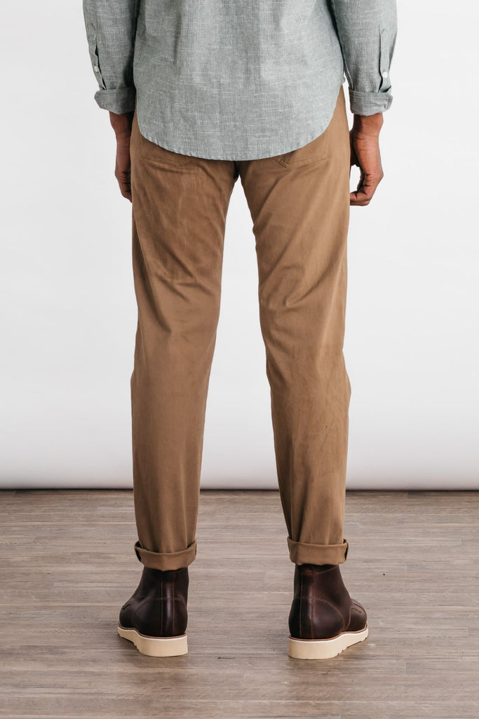 Bridge & Burn polk khaki mens slim pants