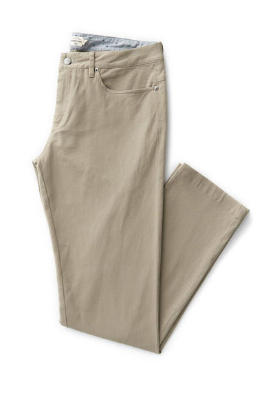 Bridge & Burn polk tan mens slim pants